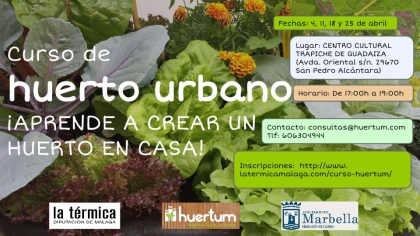 El ayuntamiento y la t rmica proponen un curso de huerto - Huerto urbano malaga ...