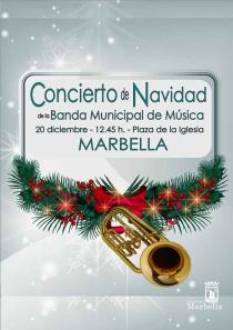 Concierto de Navidad de la Banda Municipal de Música en Marbella