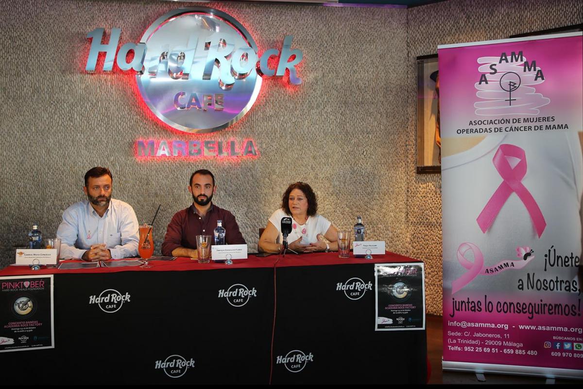 El Ayuntamiento respalda el evento solidario 'Pinktober', que contará este año con dos conciertos de bandas locales