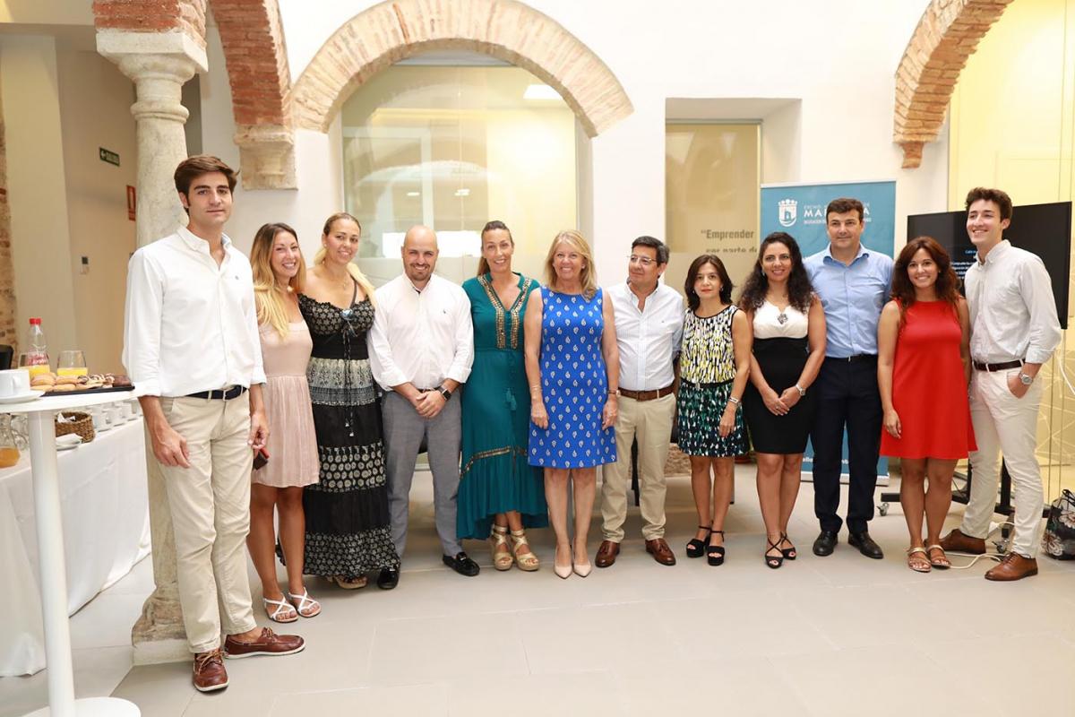 Una decena de nuevos proyectos se suma al Vivero de Empresas de Marbella, que aloja a un total de 25 emprendedores