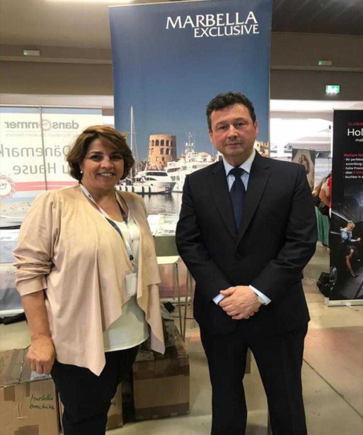 Marbella promociona su oferta turística en el congreso anual de TSS Group que se celebra en Alemania