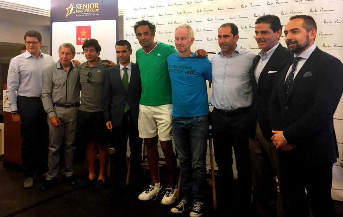 Marbella volverá a ser referente en el ámbito deportivo con la celebración de la Senior Masters Cup que comenzará mañana con la participación de las mayores leyendas del tenis