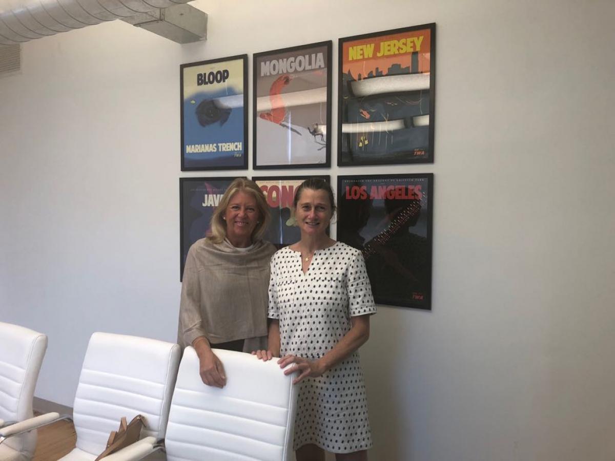 """La alcaldesa destaca las virtudes de Marbella como destino """"para visitar, residir e invertir"""" en un encuentro en la compañía Skift"""