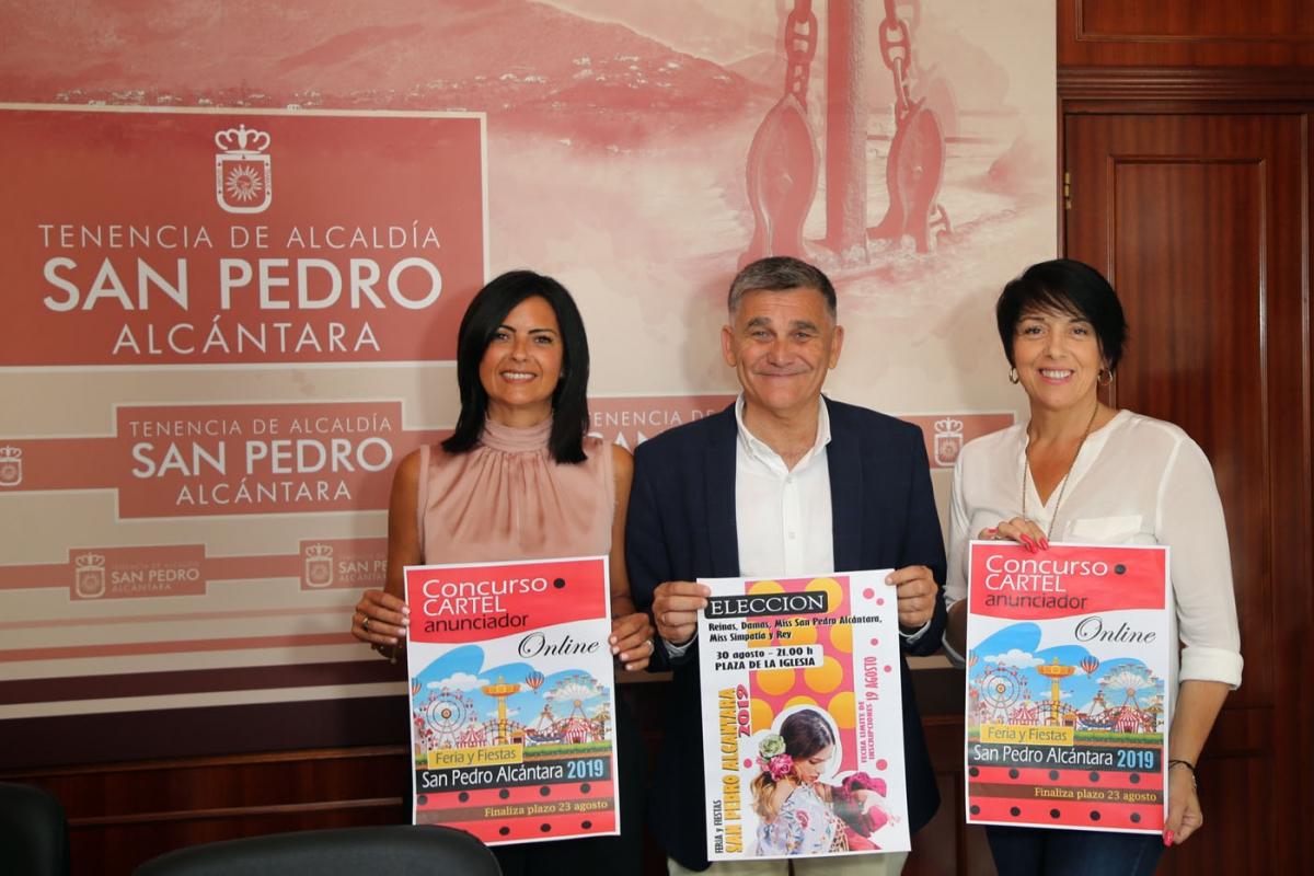 Abierto el plazo de inscripción de los concursos del cartel anunciador y la elección de reinas de la Feria de San Pedro Alcántara, que se celebrará del 15 al 20 de octubre