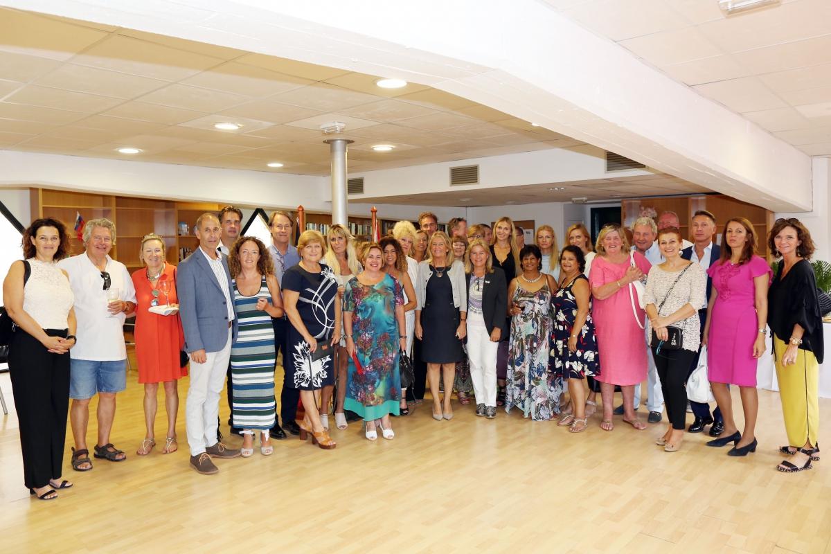 El departamento de Extranjeros de Marbella acoge un encuentro profesional de la comunidad belga