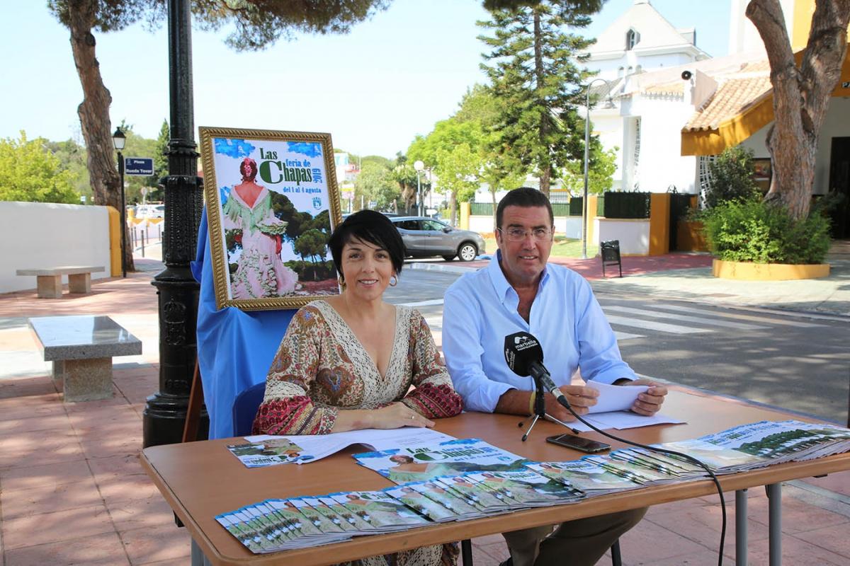 Las Chapas celebra su feria hasta el domingo con un programa que cuenta con más de una veintena de actividades