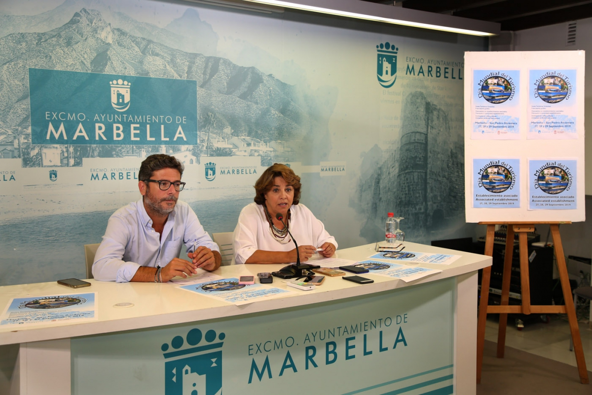 Marbella celebrará el Día Mundial del Turismo del 26 al 29 de septiembre con un completo programa de actividades y la participación de más de 80 establecimientos
