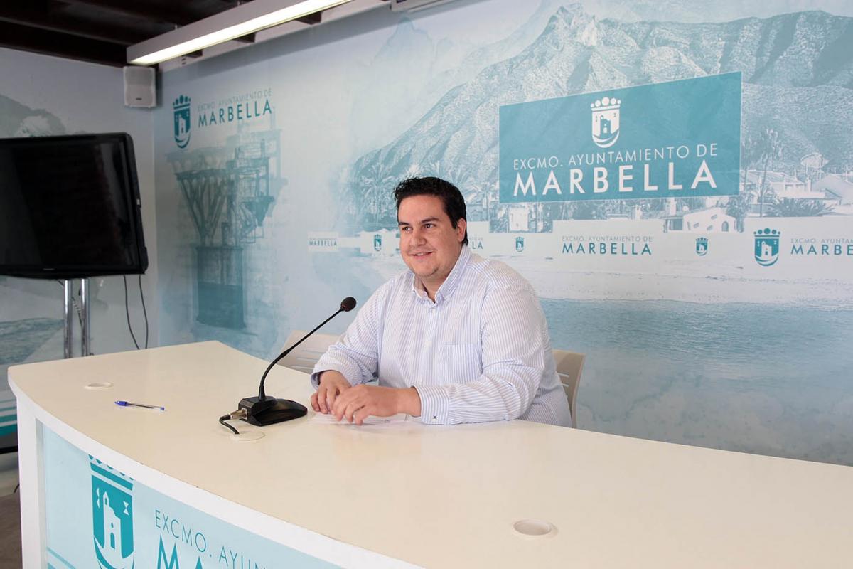 El concejal de Juventud destaca en el balance anual de su delegación la elevada participación en actividades como Marbella Crea y Programa#T que sumaron más de 700 personas