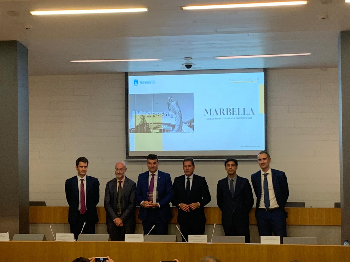 Marbella participará en la próxima edición de 'Invest In Cities', un foro de ciudades atractivas para la inversión