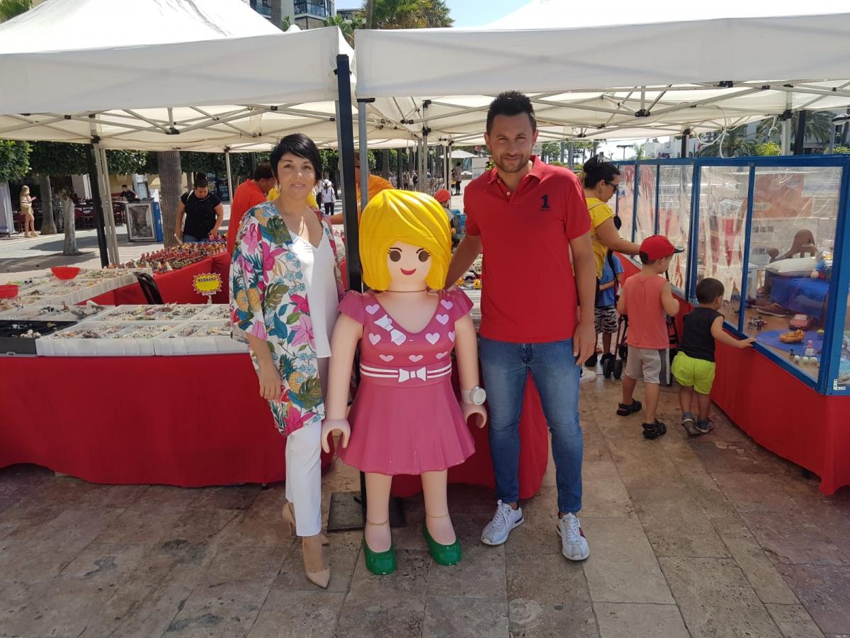Una exposición de Playmobil recrea hasta el domingo en las Terrazas del Puerto Deportivo escenas de 'Los vengadores', 'Toy story' o 'La que se avecina'