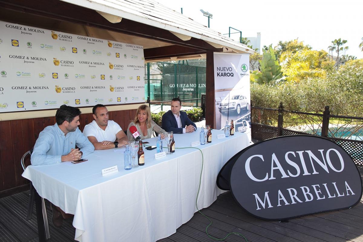 Doscientos jugadores participarán este fin de semana en el 'Torneo de Pádel ABS 2000 Casino Marbella' que se celebrará en el Club de Los Naranjos