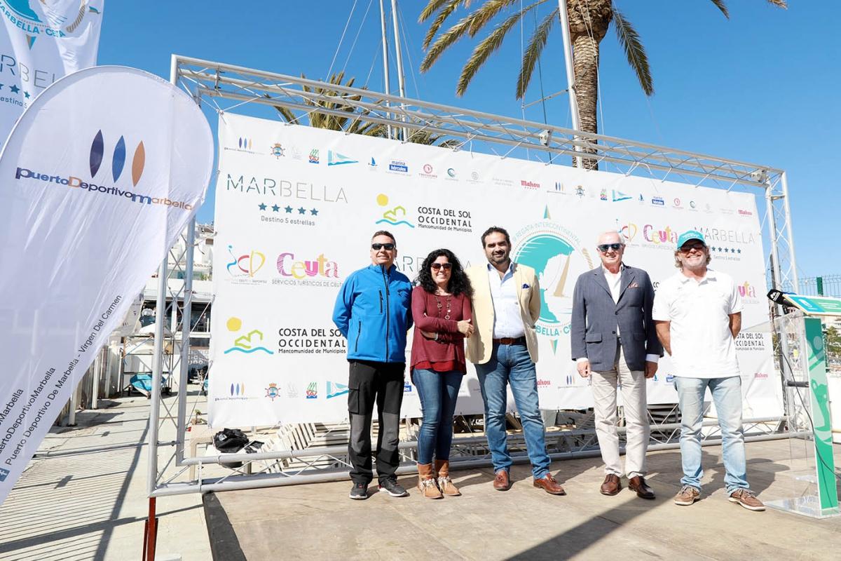 Presentada la III Regata Intercontinental Marbella/Ceuta que tendrá lugar del 27 al 30 de abril