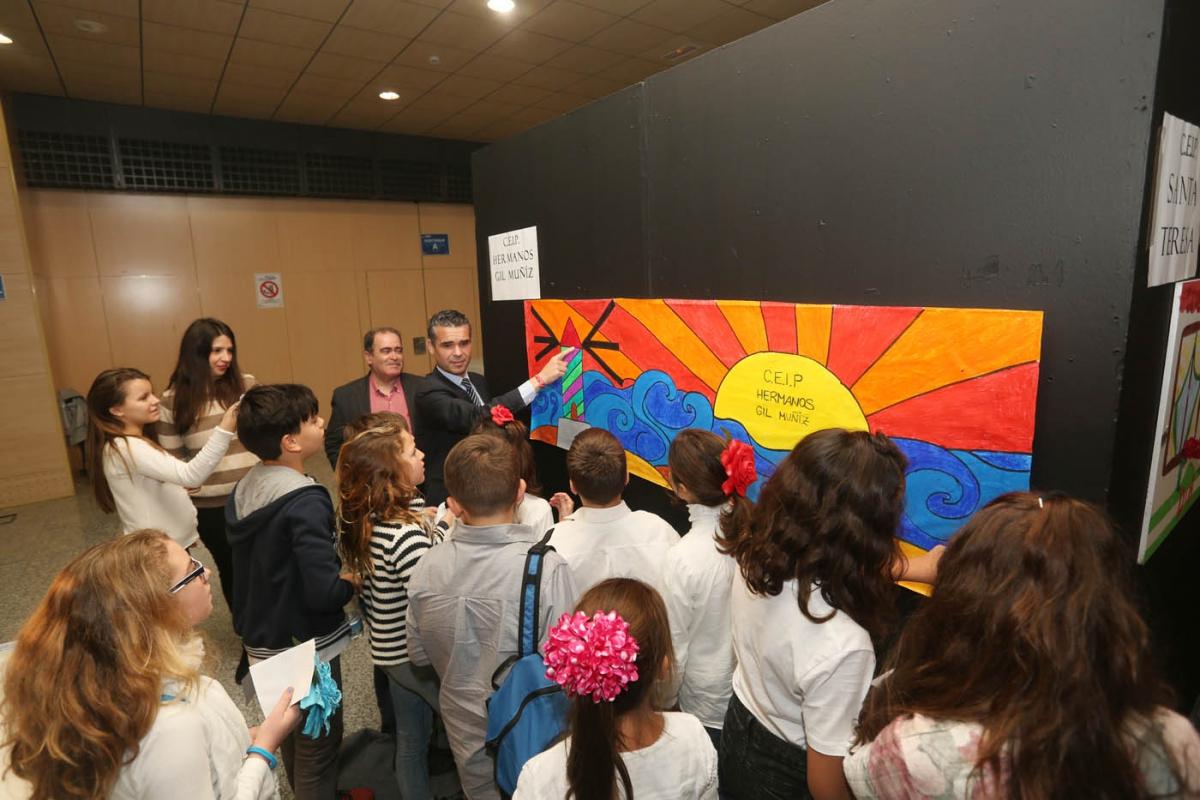 El Ayuntamiento conmemora el Día de Andalucía con diversas actividades dirigidas a escolares en el Palacio de Congresos