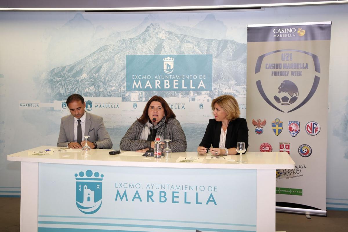 Marbella acoge entre el 24 y el 28 de marzo un torneo de fútbol con la participación de siete selecciones nacionales sub 21