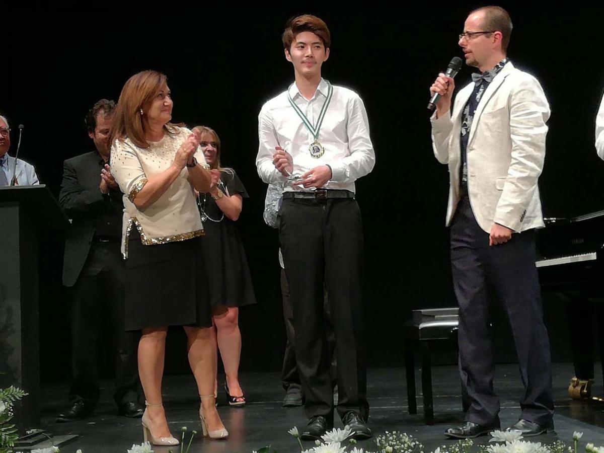 Celebrada en la ciudad la tercera edición del Concurso Internacional de Música de Marbella