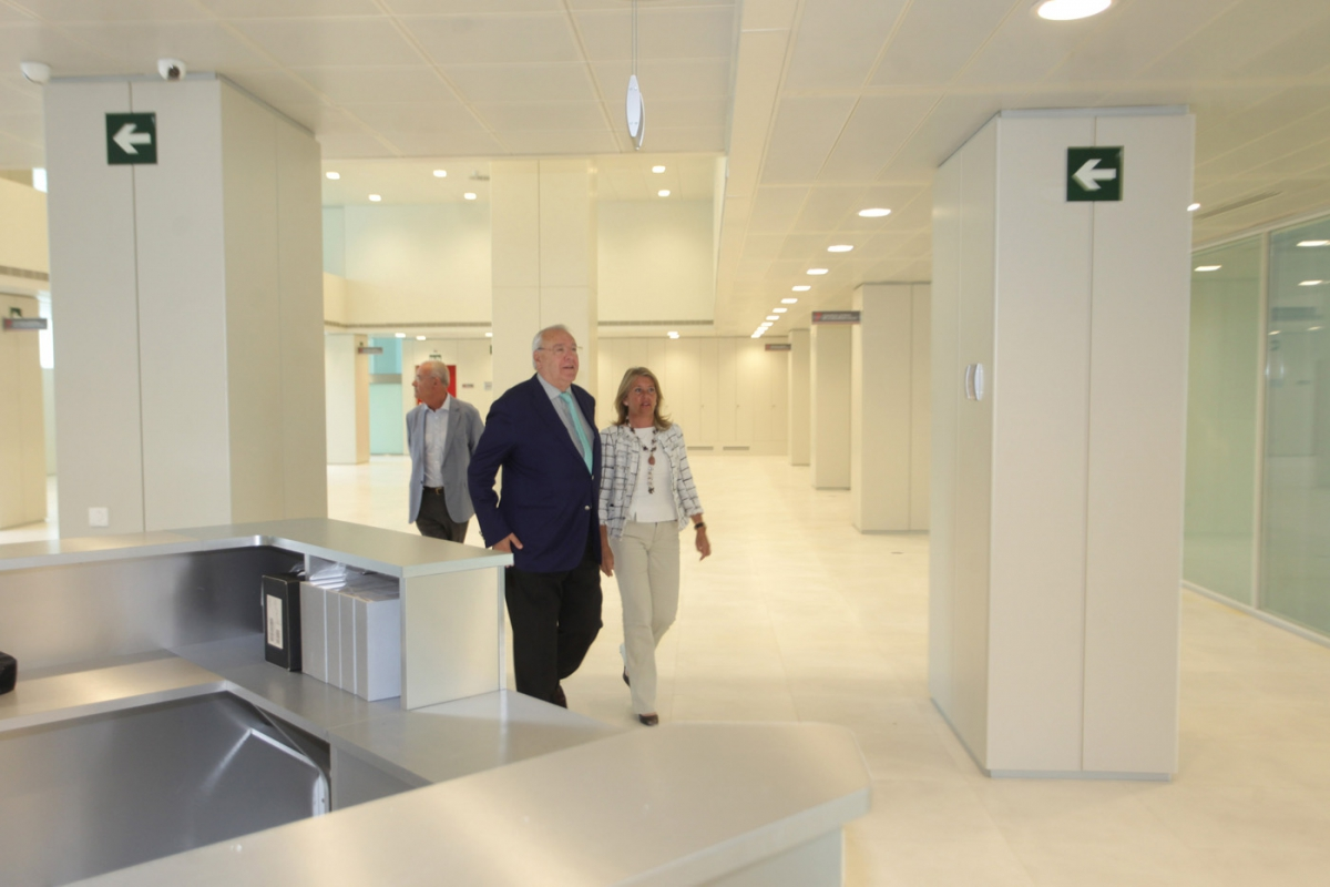 La apertura de las nuevas oficinas de la seguridad social for Oficina seguridad social pamplona