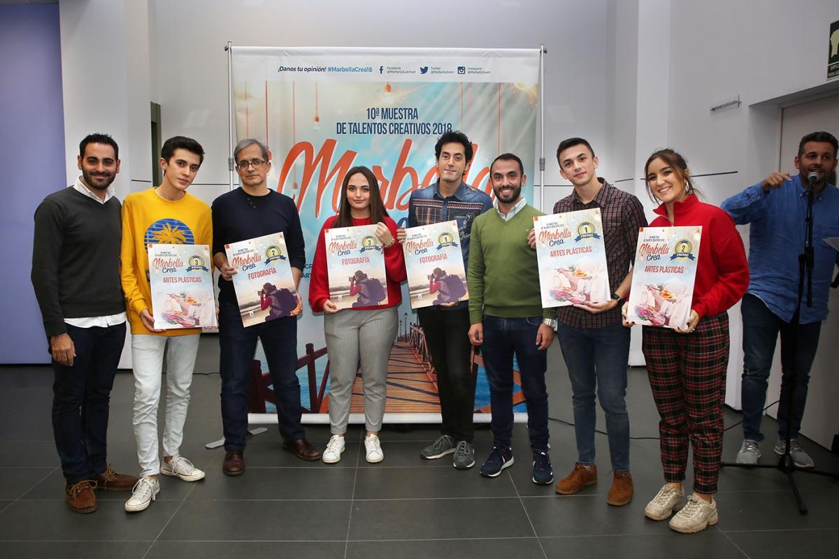 Alejandro Villalobos y Miguel Marcial Escamilla ganan el primer premio del certamen de Fotografía y Artes Plásticas Marbella Crea