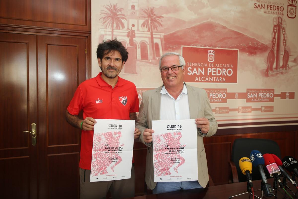 La XXIV Carrera Urbana de San Pedro Alcántara abrirá las actividades de la Feria el próximo 12 de octubre