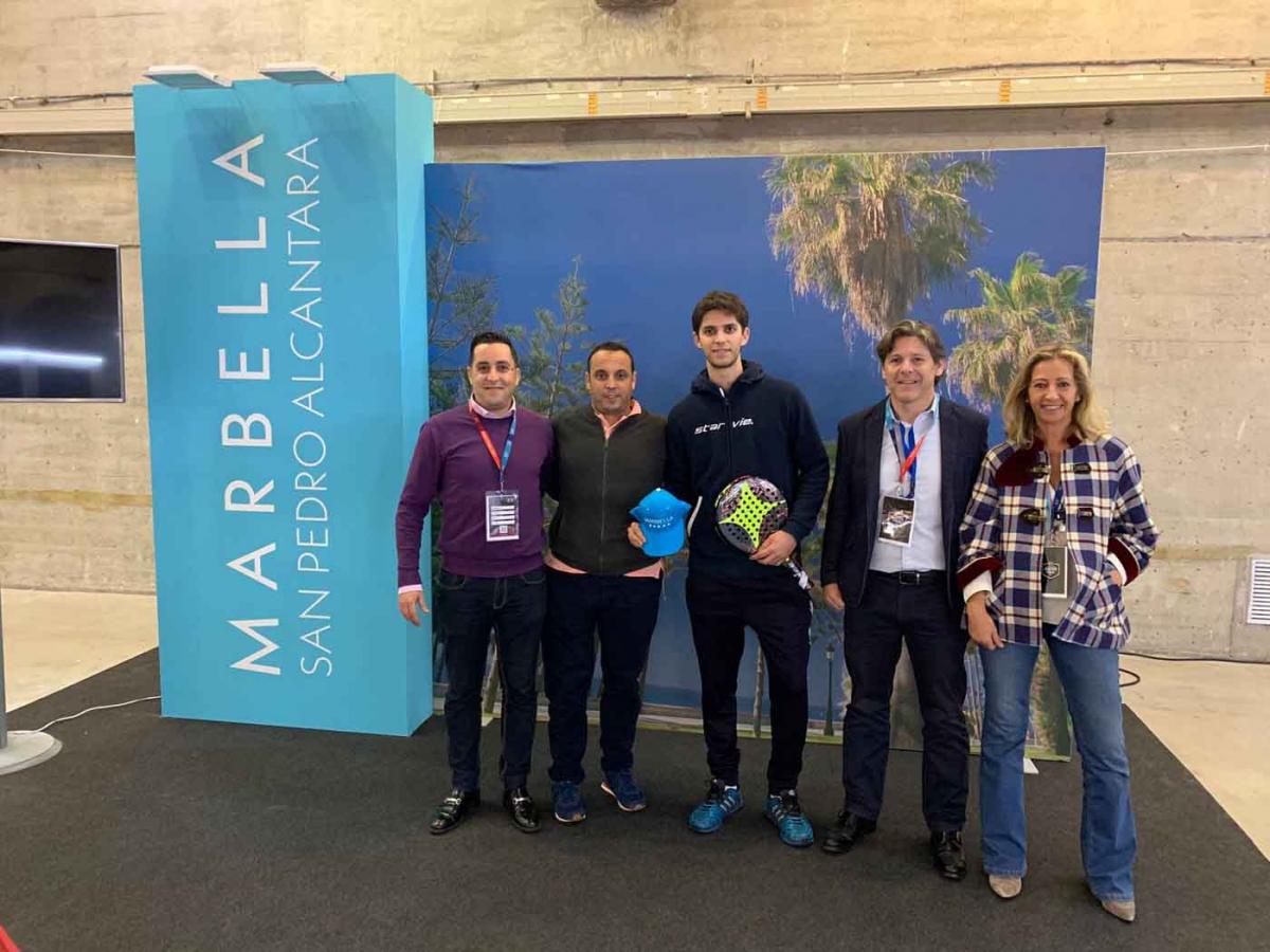 Marbella y San Pedro Alcántara están presentes en el 'World Padel Tour Master Final de Madrid' para promocionar el municipio como próxima sede en marzo de 2019