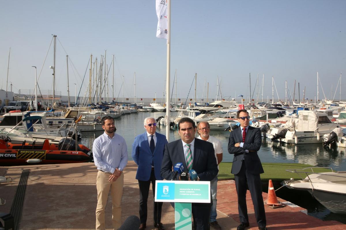 Una treintena de embarcaciones participan este fin de semana en la II Copa Intercontinental de Crucero entre Marbella y Ceuta