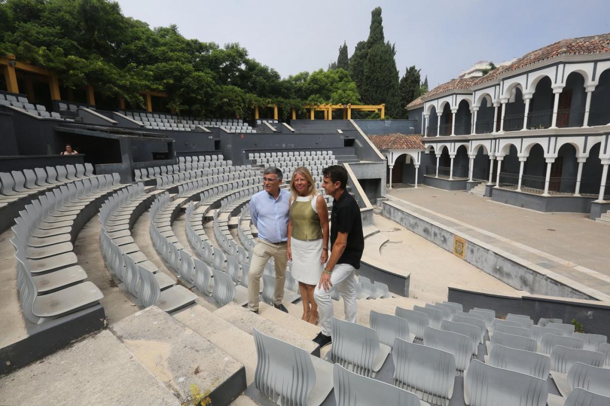 El Ayuntamiento acomete una batería de actuaciones en el parque de la Constitución que incluye el acondicionamiento integral del auditorio para recuperarlo como espacio escénico