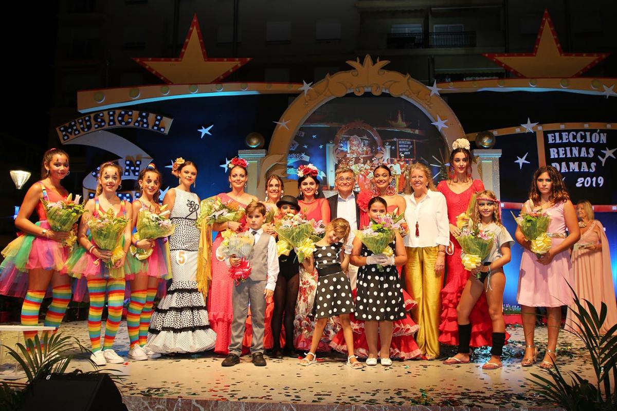 Elegidas las Reinas y Damas de la Feria de San Pedro Alcántara 2019