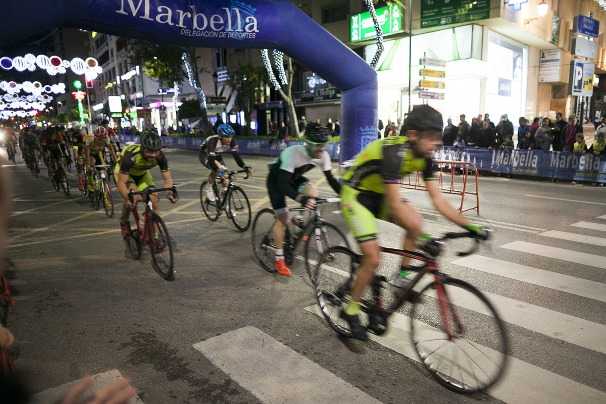 Marbella acoge la celebración de la IX Carrera Ciclista del Pavo