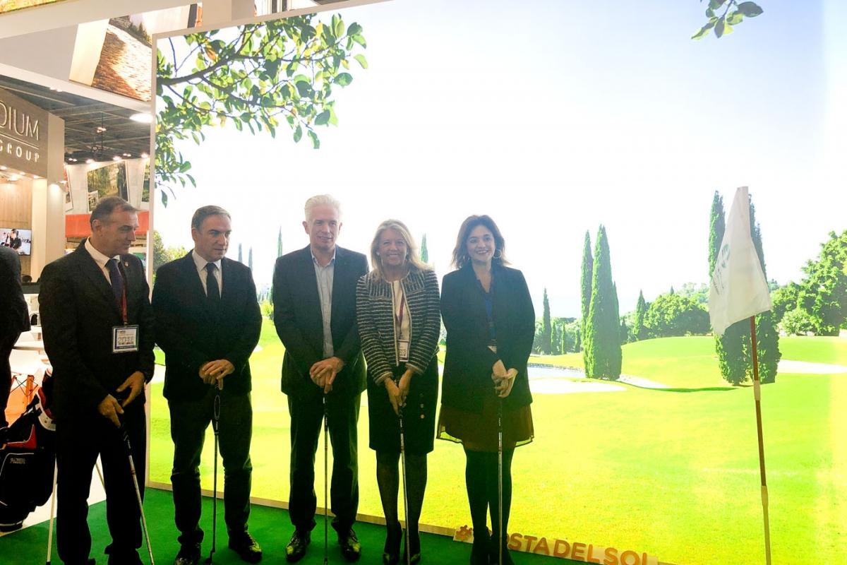 El golf y la oferta gastronómica centrarán la promoción de Marbella en la próxima World Travel Market de Londres