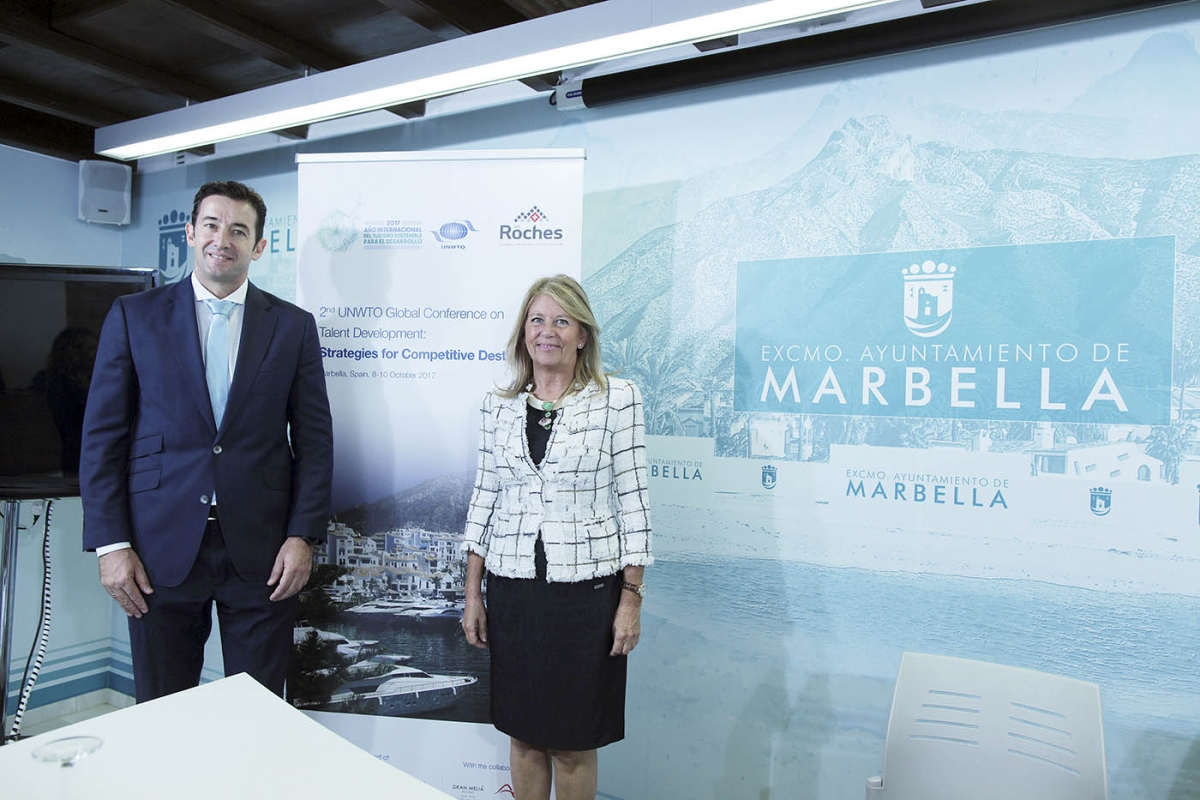 Marbella se convertirá del 8 al 10 de octubre en foco turístico internacional con la celebración de la 2ª Conferencia Mundial de la OMT sobre Desarrollo de Talento