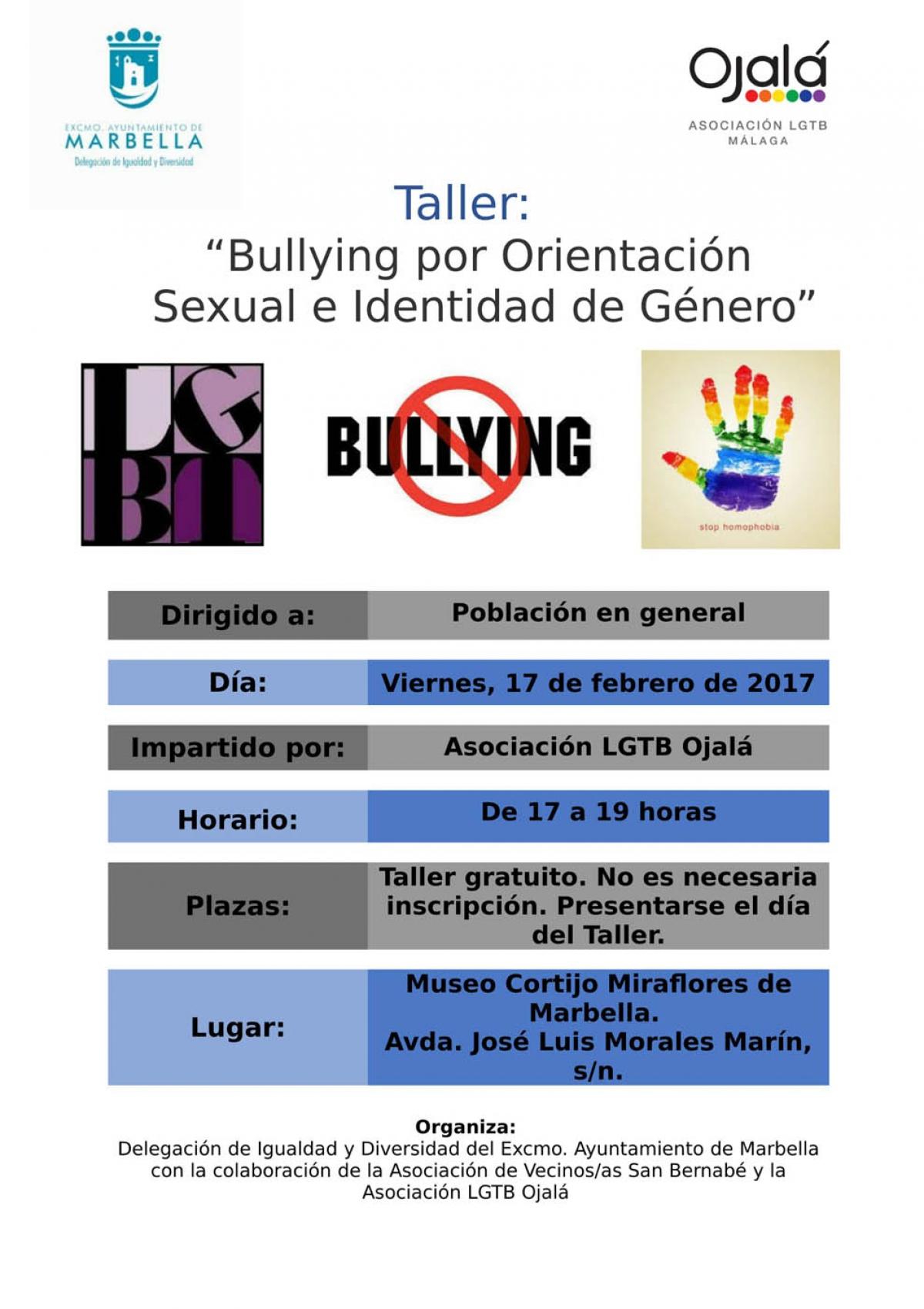 """Resultado de imagen de """"Bullying por orientación sexual e identidad de género"""" marbella"""
