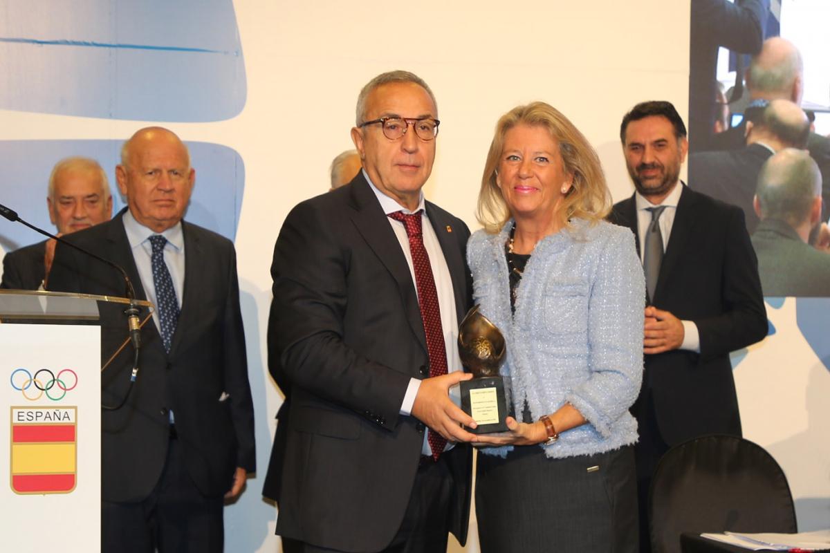 El Ayuntamiento de Marbella, galardonado con el Premio a la Institución 2018 del Comité Olímpico Español