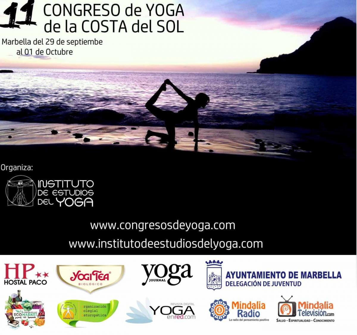 El Palacio de Congresos Adolfo Suárez acogerá el 11º Congreso de Yoga de la Costa del Sol del 29 de septiembre al 1 de octubre