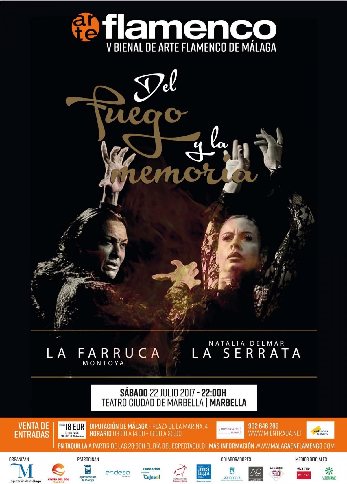 El Teatro Ciudad de Marbella acoge este sábado la V Bienal de Arte Flamenco