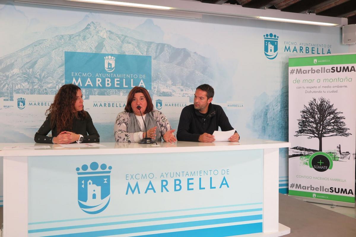 El Ayuntamiento ha acogido la presentación del programa anual del Club de Escalada Marbella que cuenta con más de medio millar de actividades