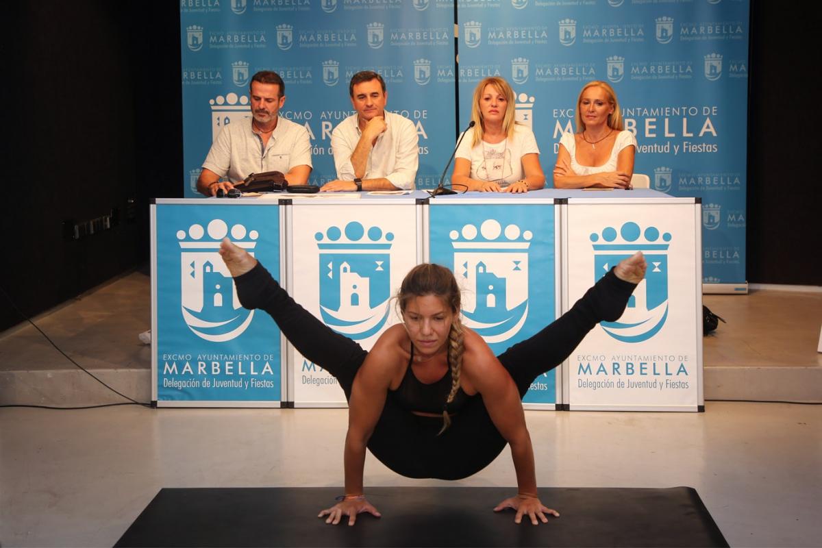 El Palacio de Congresos albergará del 28 al 30 de septiembre la duodécima edición del 'Congreso de Yoga Costa del Sol'