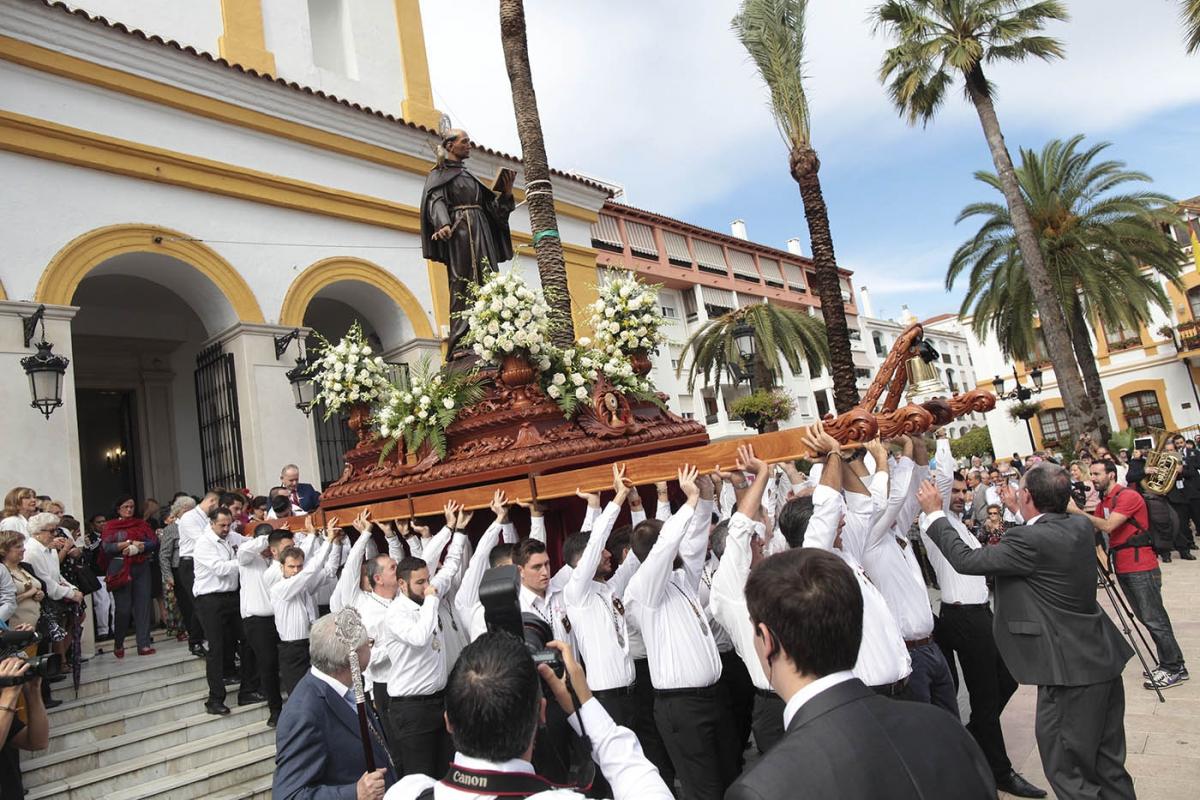 San Pedro Alcántara celebra el día de su Patrón