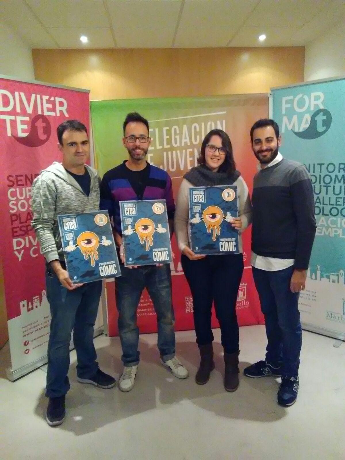 Francisco Lobón gana la Muestra Joven de Cómic con su obra 'Boom'