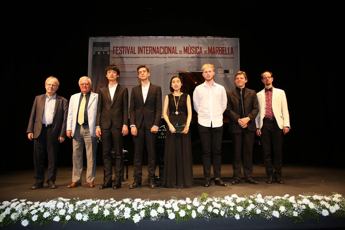 La surcoreana Ji Eun Park se alza con el segundo premio del 'V Concurso Internacional de Música de Marbella'