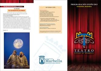 El Teatro 'Ciudad de Marbella' acogerá en otoño ocho espectáculos de gran calidad para todas las edades