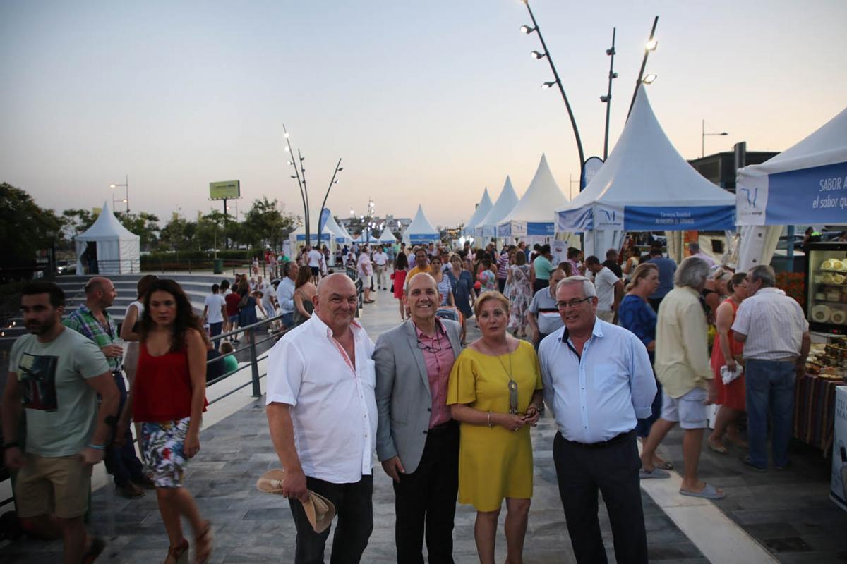 El Bulevar de San Pedro acoge hasta mañana la feria 'Sabor a Málaga'