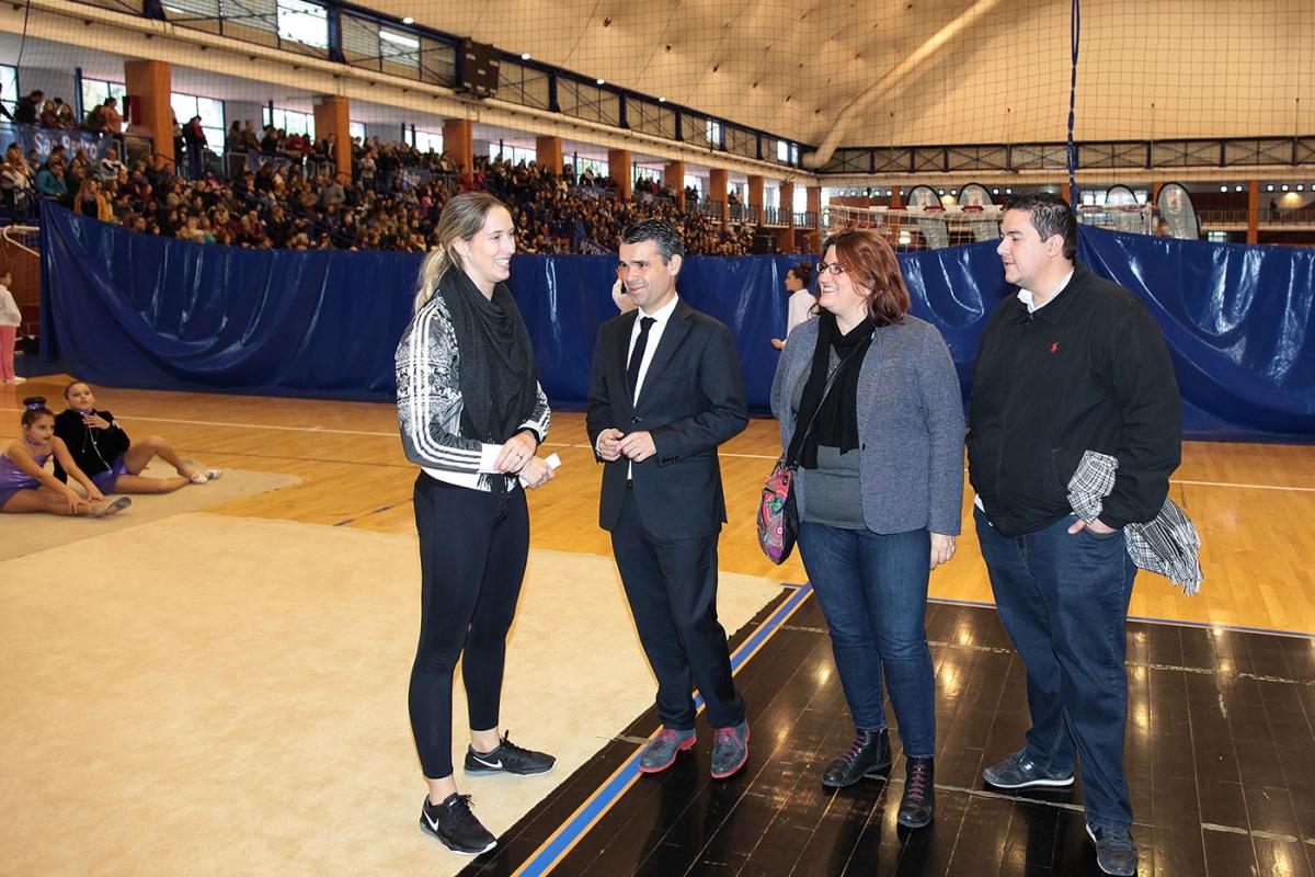 Celebrada la XIX Exhibición de Navidad de Gimnasia Rítmica de las Escuelas Deportivas Municipales