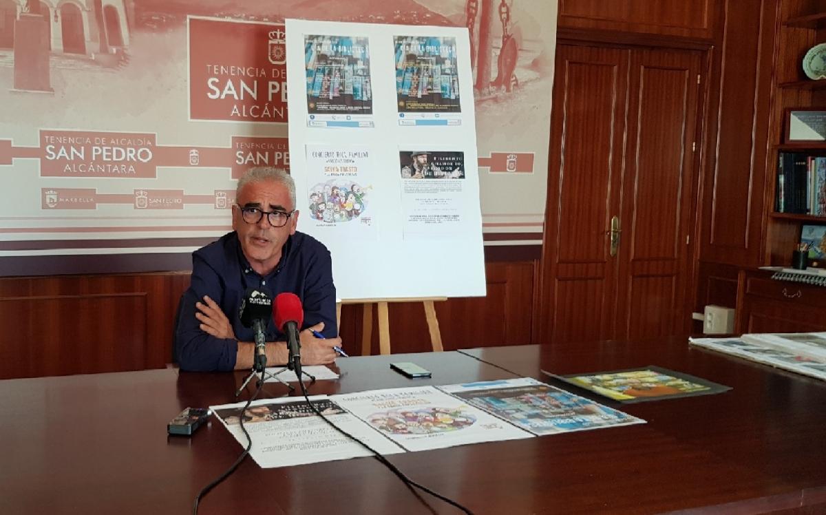 San Pedro Alcántara se suma este jueves a la conmemoración del Día de la Biblioteca con actividades para todos los públicos