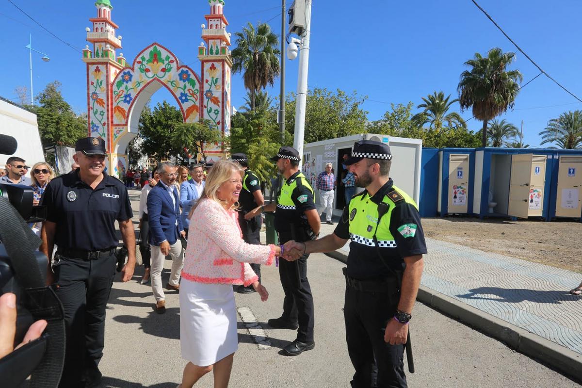 La Feria de San Pedro Alcántara 2019 contará con un dispositivo de 170 agentes que velarán diariamente por la seguridad de ciudadanos y visitantes