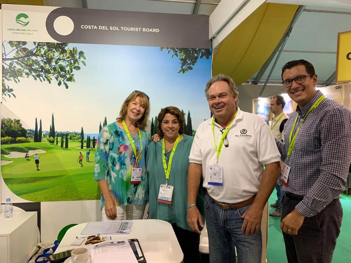 """Marbella promociona su """"madura y potente"""" oferta de golf en la IGTM de Marrakech, la principal feria mundial del sector"""