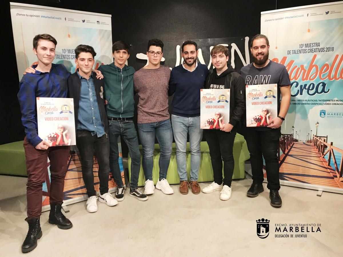 Alejandro Hoces obtiene el primer premio de la Muestra Joven de Videocreación del programa Marbella Crea