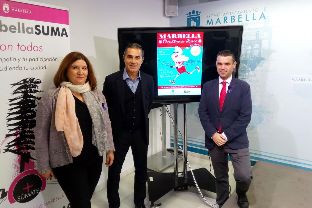 El Ayuntamiento respalda la carrera solidaria Marbella Christmas Race que tendrá lugar el 23 de diciembre