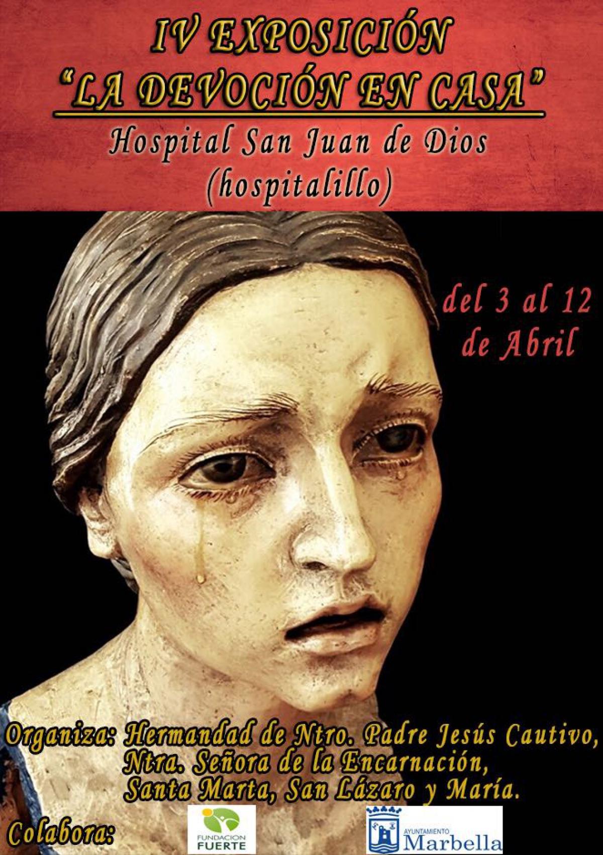 Inauguración de la exposición 'La devoción en casa' en el Hospital Real de la Misericordia