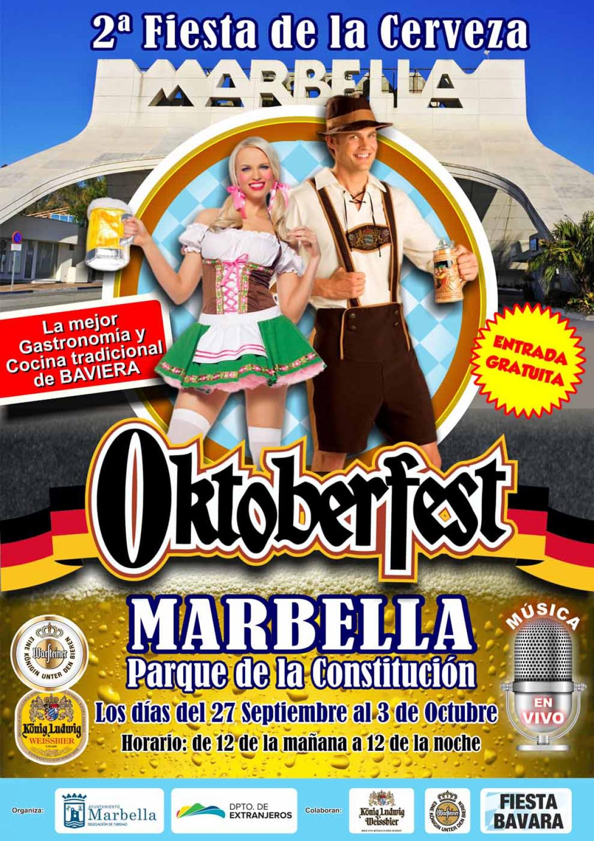 El Parque de la Constitución acoge mañana la inauguración de la fiesta Oktoberfest, que se prolongará hasta el 3 de octubre