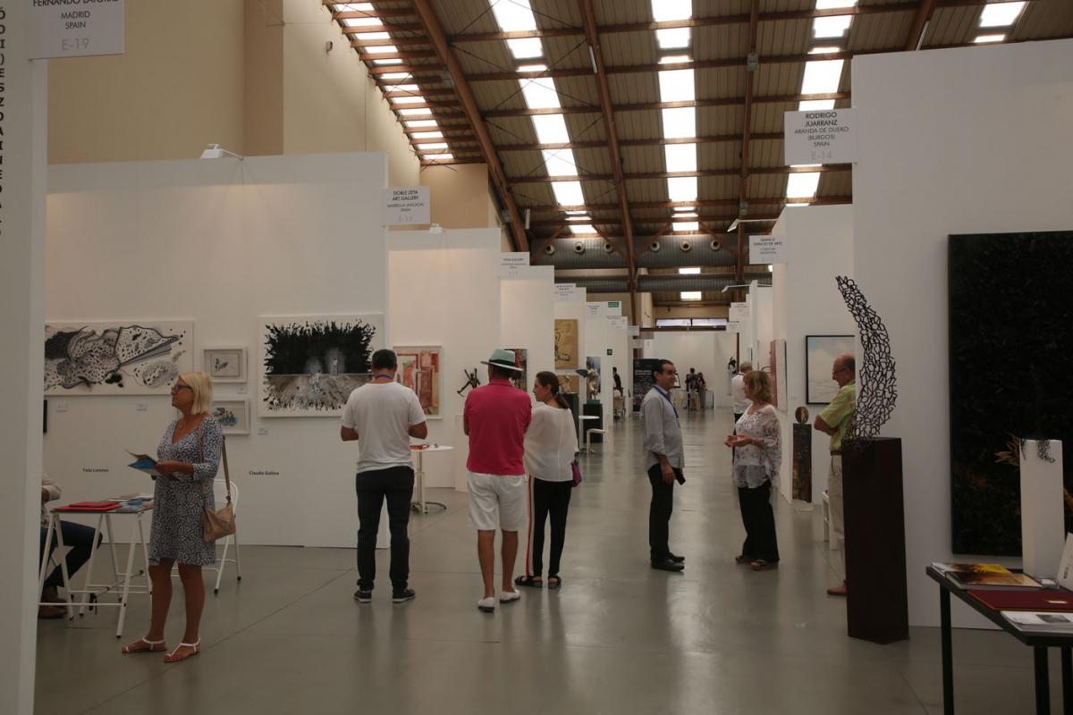 Art Marbella cierra su tercera edición con más de 12.000 visitas