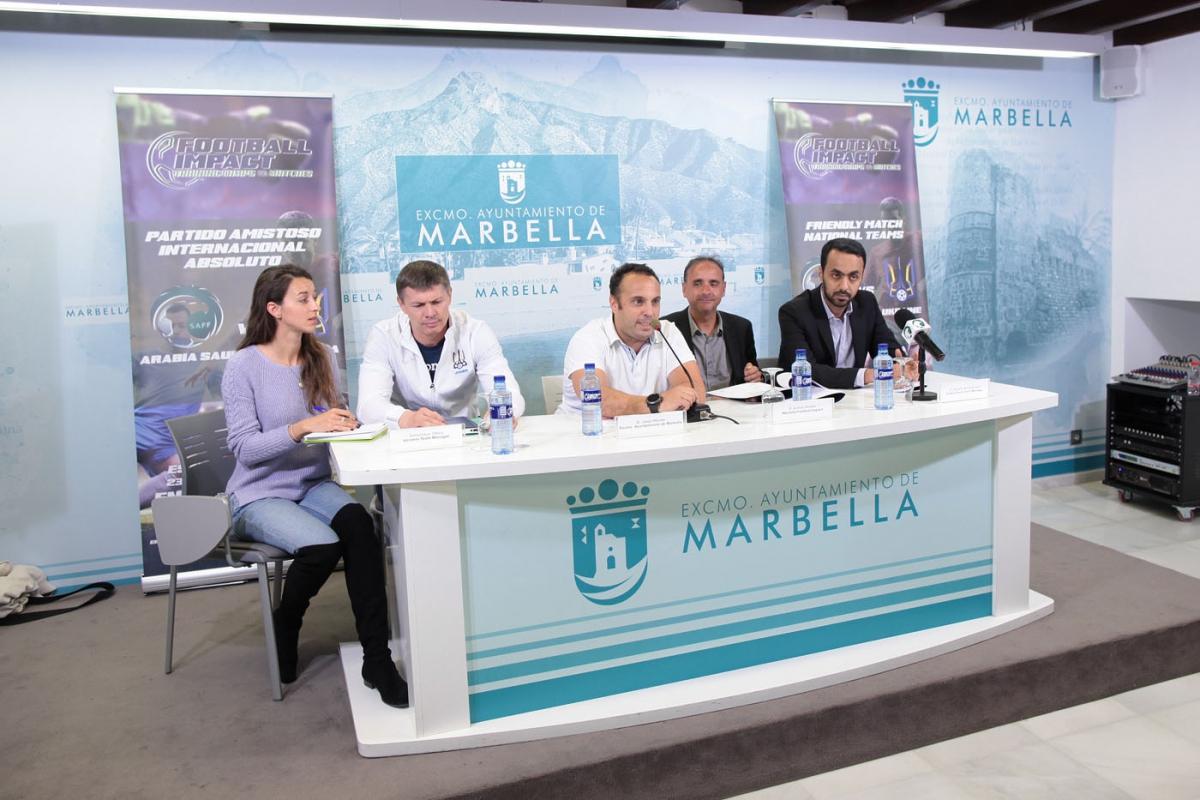 Marbella acogerá el 23 de marzo un partido amistoso de fútbol entre las selecciones de Arabia Saudita y Ucrania